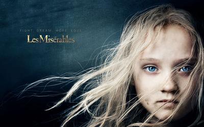 Young Cosette - Les Miserables wallpaper
