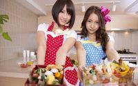 Atsuko Maeda and Tomomi Itano - AKB48 wallpaper 1920x1080 jpg