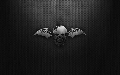 Avenged Sevenfold logo wallpaper
