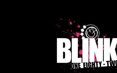 Blink-182 logo wallpaper