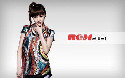 Bom - 2NE1 wallpaper