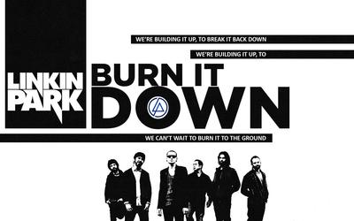 Burn it down - Linkin Park wallpaper