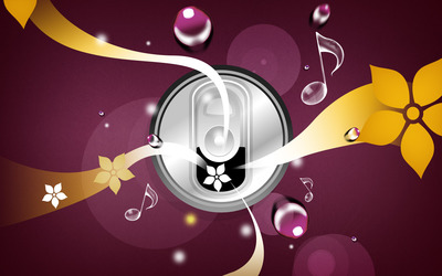 Can of Music wallpaper