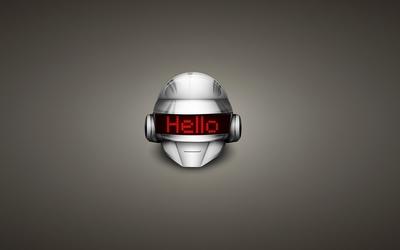 Daft Punk - Hello wallpaper
