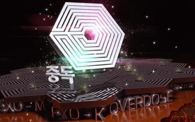 Exo 3D Logo wallpaper