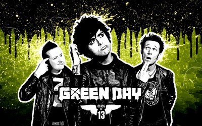 Green Day [2] wallpaper