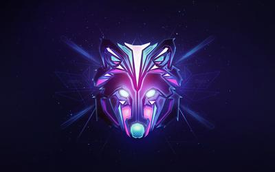 Hardwell wolf Wallpaper
