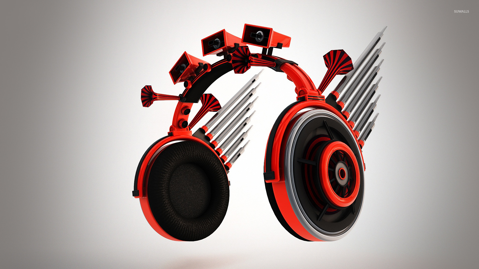 Headphone With Speakers Wallpaper Music Wallpapers 22697