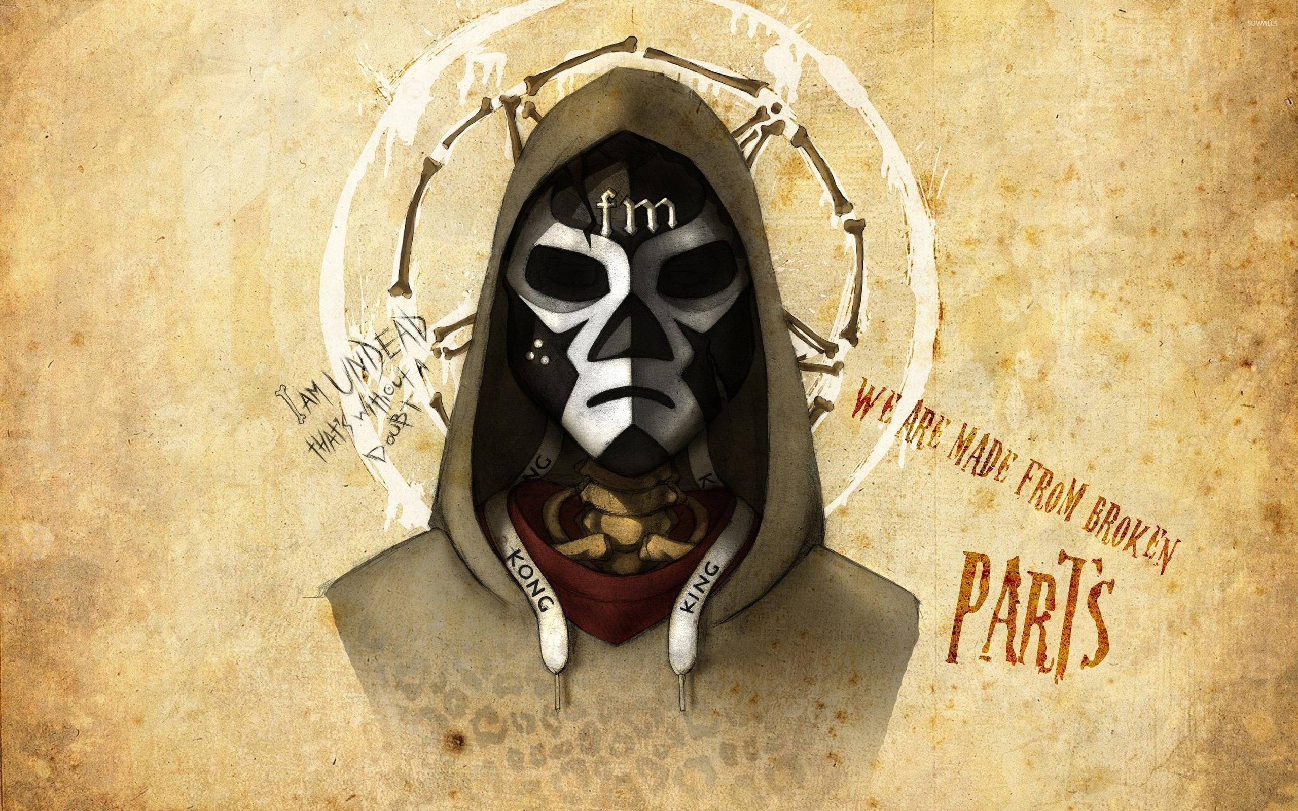 Download wallpaper 2560x1440 hollywood undead, hollywood, undead.