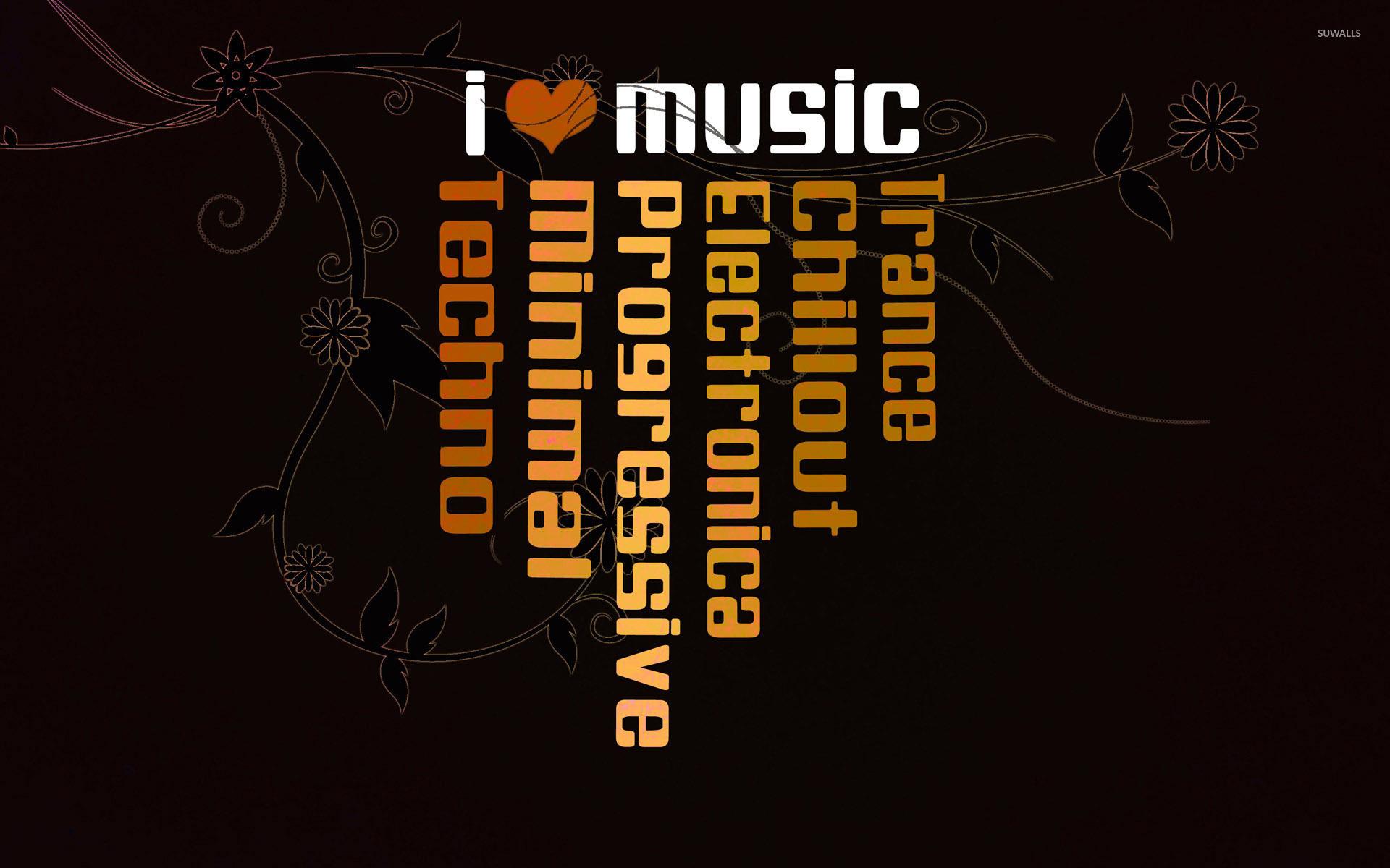 I Love Music 2 Wallpaper