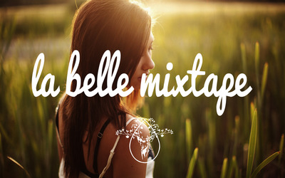La Belle Mixtape with a girl in the field wallpaper