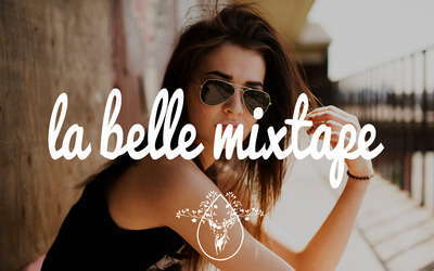 La Belle Mixtape with a girl in aviator glasses wallpaper