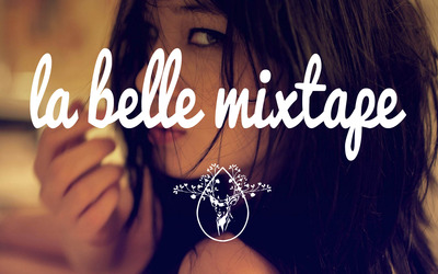 La Belle Mixtape with a sensual brunette wallpaper