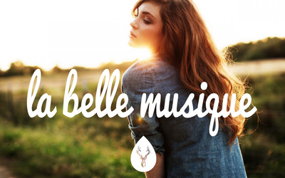 La Belle Musique with a girl on the field wallpaper