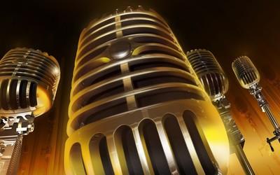 Microphones wallpaper