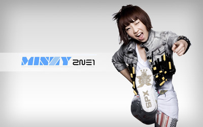 Minzy - 2NE1 [2] wallpaper