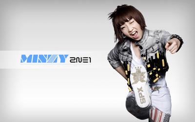 Minzy - 2NE1 [2] wallpaper
