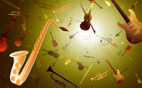 Musical instruments [2] wallpaper 1920x1200 jpg