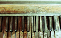 Old piano keys wallpaper 1920x1080 jpg