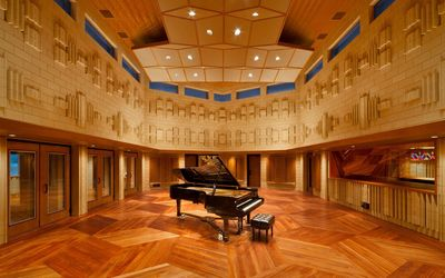 Piano in the Manifold Recording studio wallpaper