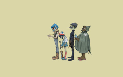 Plastic Beach - Gorillaz wallpaper