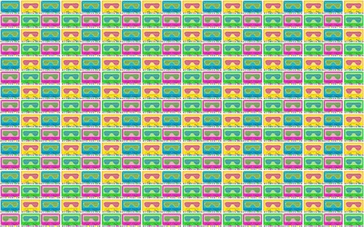 Retroverload Bright Tile wallpaper