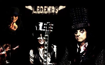 Rock legends wallpaper
