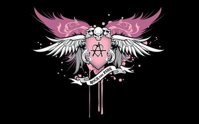 Rock the Pink Festival logo wallpaper