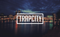 Trap City in a cloudy city night wallpaper 2880x1800 jpg
