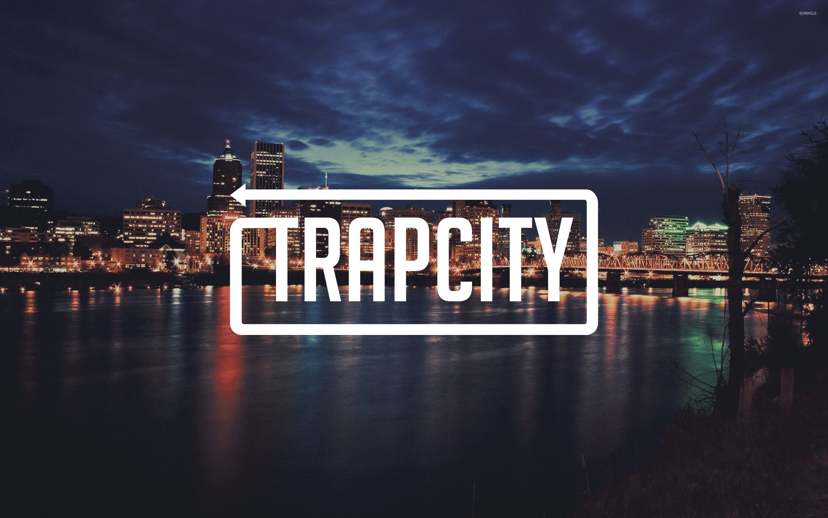 Sistar wallpaper 5 - Trap City In A Cloudy City Night Wallpaper Music