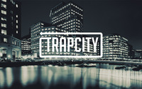 Trap City in the shiny city lights wallpaper 2880x1800 jpg