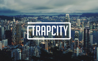 Trap City over the Hong Kong skyline wallpaper 2880x1800 jpg