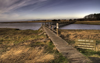 Aberlady Bay wallpaper 1920x1200 jpg