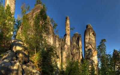 Adrspach-Teplice Rocks wallpaper