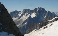 Aiguille du Midi, France wallpaper 2880x1800 jpg