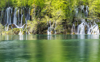 Amazing forest waterfall wallpaper 1920x1080 jpg