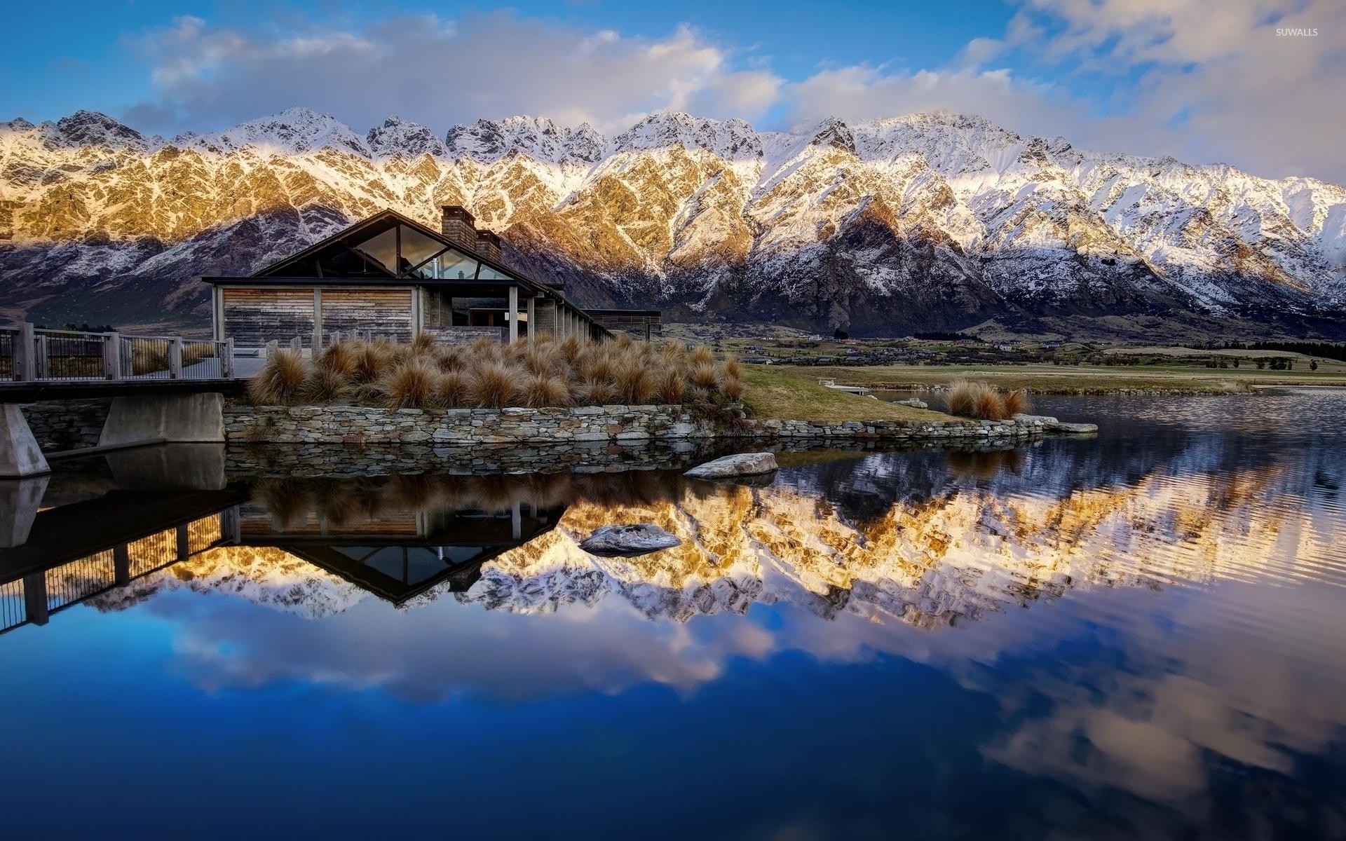 wallpaper amazing mountain lake - photo #35