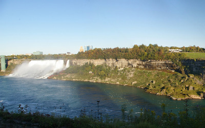 American Falls and  Bridal Veil Falls wallpaper