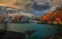 Amir Kabir Dam, Iran wallpaper 1920x1080 jpg