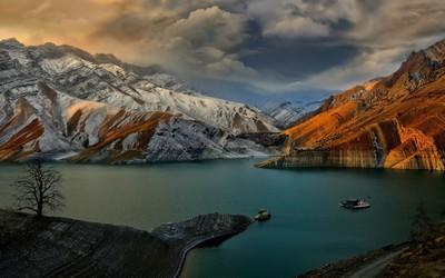 Amir Kabir Dam, Iran wallpaper