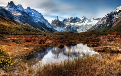 Andes, Argentina wallpaper