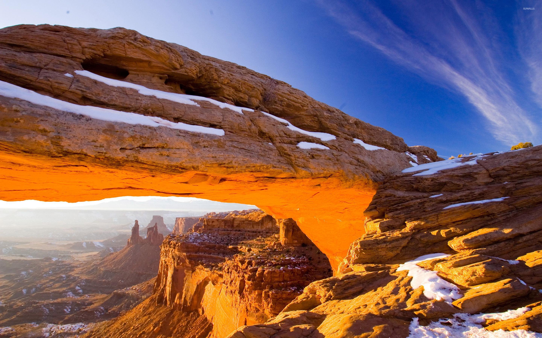 скалы арка небо без смс