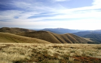 Arid hills on a sunny day wallpaper 2560x1600 jpg