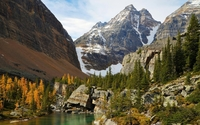Autumn in Yoho National Park wallpaper 1920x1200 jpg
