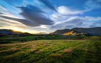 Beautiful alpine sunrise wallpaper 2880x1800 jpg