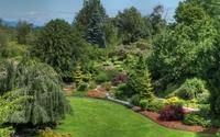 Beautiful garden wallpaper 2880x1800 jpg