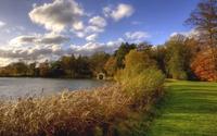 Beautiful nature by the lake wallpaper 1920x1200 jpg