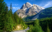 Beautiful nature in Yoho National Park wallpaper 1920x1200 jpg