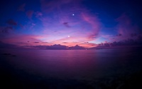 Beautiful purple sunset wallpaper 1920x1200 jpg