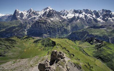 Bernese Oberland wallpaper